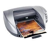 HP(ヒューレットパッカード)のプリンター Deskjet 5550 の、インクや説明書、マニュアル、ドライバー情報