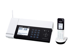 Panasonic(パナソニック)のFAX KX-PD101DL の、インクリボン、フィルムや充電池、増設子機情報
