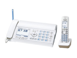 Panasonic(パナソニック)のFAX KX-PD502DL の、インクリボン、フィルムや充電池、増設子機情報