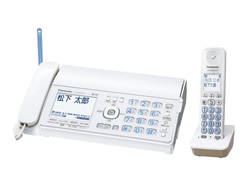 Panasonic(パナソニック)のFAX KX-PD502UD の、インクリボン、フィルムや充電池、増設子機情報