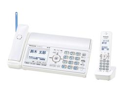 Panasonic(パナソニック)のFAX KX-PD552DL の、インクリボン、フィルムや充電池、増設子機情報