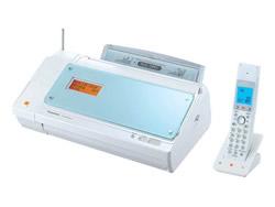 Panasonic(パナソニック)のFAX KX-PW100CL の、インクリボン、フィルムや充電池、増設子機情報