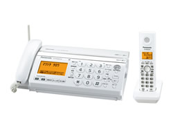 Panasonic(パナソニック)のFAX KX-PW320DL の、インクリボン、フィルムや充電池、増設子機情報