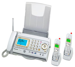 Panasonic(パナソニック)のFAX KX-PW48CL の、インクリボン、フィルムや充電池、増設子機情報