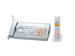Panasonic(パナソニック)のFAX KX-PW507DL の、インクリボン、フィルムや充電池、増設子機情報