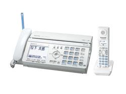 Panasonic(パナソニック)のFAX KX-PW521XL の、インクリボン、フィルムや充電池、増設子機情報