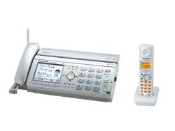 Panasonic(パナソニック)のFAX KX-PW608DL の、インクリボン、フィルムや充電池、増設子機情報