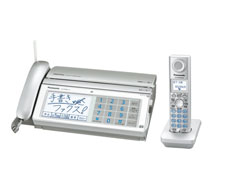Panasonic(パナソニック)のFAX KX-PW821DL の、インクリボン、フィルムや充電池、増設子機情報