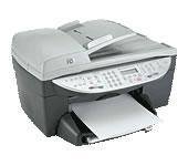 HP(ヒューレットパッカード)のプリンター Officejet 6150 の、インクや説明書、マニュアル、ドライバー情報