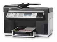 HP(ヒューレットパッカード)のプリンター Officejet Pro L7590 の、インクや説明書、マニュアル、ドライバー情報