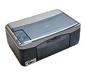 HP(ヒューレットパッカード)のプリンター PSC 1350 All-in-One の、インクや説明書、マニュアル、ドライバー情報