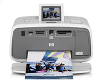 HP(ヒューレットパッカード)のプリンター Photosmart A716 の、インクや説明書、マニュアル、ドライバー情報