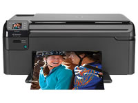HP(ヒューレットパッカード)のプリンター Photosmart B109A の、インクや説明書、マニュアル、ドライバー情報