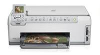 HP(ヒューレットパッカード)のプリンター Photosmart C5180 All-in-One の、インクや説明書、マニュアル、ドライバー情報