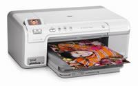 HP(ヒューレットパッカード)のプリンター Photosmart D5360 の、インクや説明書、マニュアル、ドライバー情報