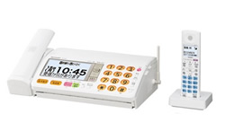 SHARP(シャープ)のFAX UX-850CL の、インクリボン、フィルムや充電池、増設子機情報